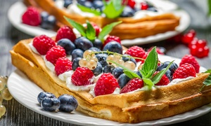 Yummy Waffles Cafe: Up to AED 200 Toward Food and Drink at Yummy Waffles Cafe (50% Off)
