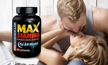 30-Day Supply of Max Stamina Go All Night Male Sexual Stimulant Supplement