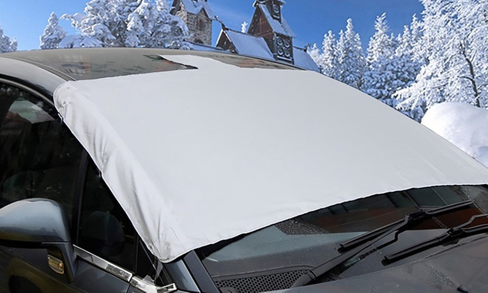 One, Two or Three Magnetic Windscreen Frost Protector Covers from £4