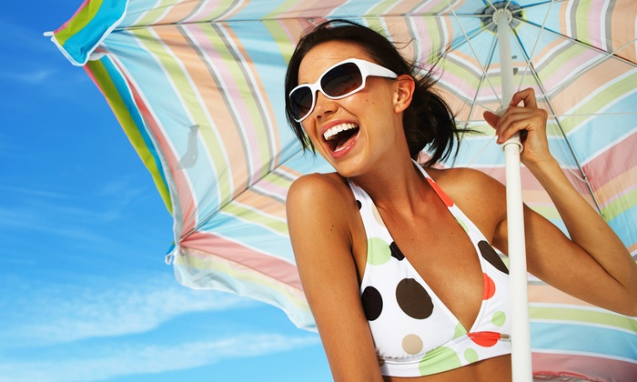 D's Spray Tanning - South Scottsdale: One, Three, or Five Organic Airbrush-Tanning Sessions at D's Spray Tanning (Up to 63% Off)