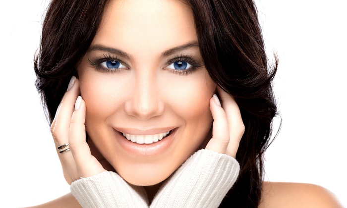 New York Cosmetic Dental - New York: Dental Exam with X-rays and Cleaning, Take-Home Whitening Kit, or Both at New York Cosmetic Dental (Up to 91% Off)