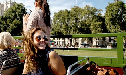 Vintage OpenTop London DoubleDecker Bus Tour for Child, Adult or Family with Premium Tours