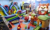 Active Kids Zone - North York: Three Drop-In Play Passes for One, Two, or Four Children at Active Kids Zone (50% Off)
