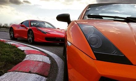 Fino a 4 giri in pista su Ferrari, Lamborghini, Subaru. Valido in 4 circuiti