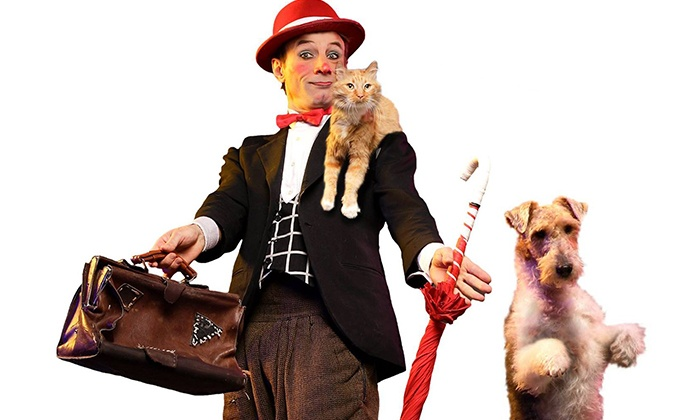 Popovich Comedy Pet Theater - Packard Music Hall: Popovich Comedy Pet Theater on Saturday, March 19, at 3 p.m.