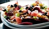 Purple Olive Grill - West End: Three-Course Dinner for Two, Valid Sunday–Thursday or Friday–Saturday at Purple Olive Grill (Up to 52% Off)