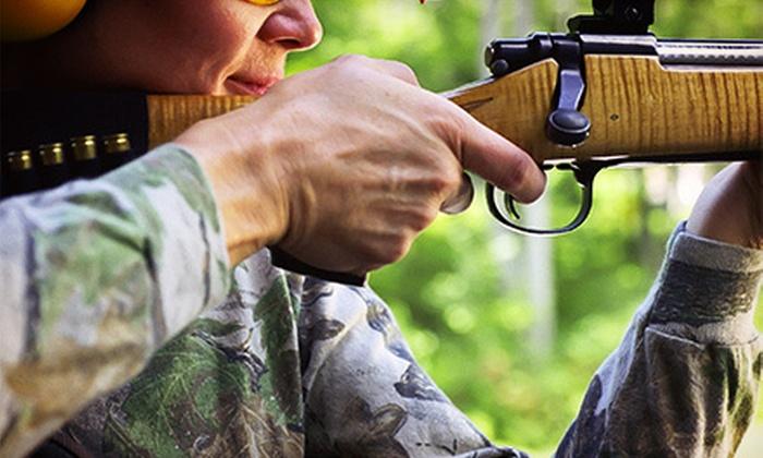 Silverdale Gun Club - St. Anns: $39 for a Beginners' Shooting-Range Package with Three Firearms at Silverdale Gun Club ($95 Value)