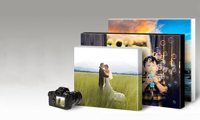 PAINTS & PRINTS LLC - Houston: Large Custom Photo Canvas at Paints & Prints LLC (Up to 52% Off). Six Options Available.