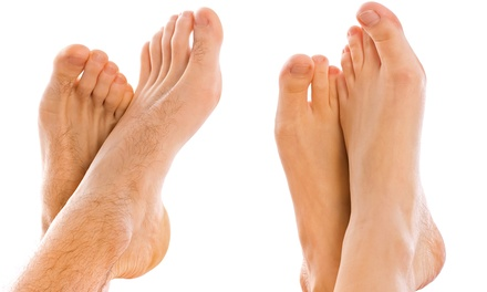 Three Laser Nail-Fungus Treatments for One or Both Feet at Feet First Podiatry (Up to 86% Off)