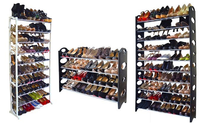 Awesome 20 , 40 , Or 50 Pair Shoe Rack: 20 , ...