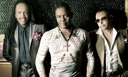 Earth, Wind & Fire at Uptown Amphitheatre at NC Music Factory on Sunday, May 31, at 8 p.m. (Up to 51% Off)