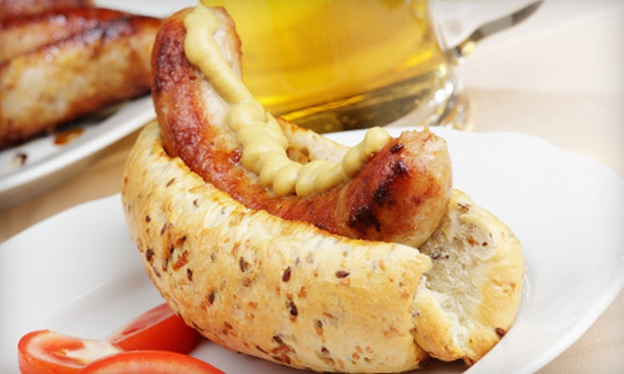 Bier Academy - Canyon Country: Sausage Plates and Beers for Two or Four at Bier Academy (Up to 53% Off)