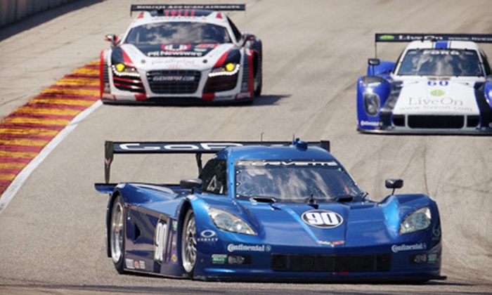 Grand-Am Road Racing - Flowery Branch: $23 to See Grand-Am Road-Racing Rolex Series at Road Atlanta on April 19–20 (Up to $53 Value)