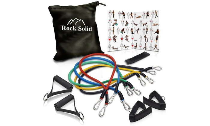 Rock Solid Resistance Band Set...