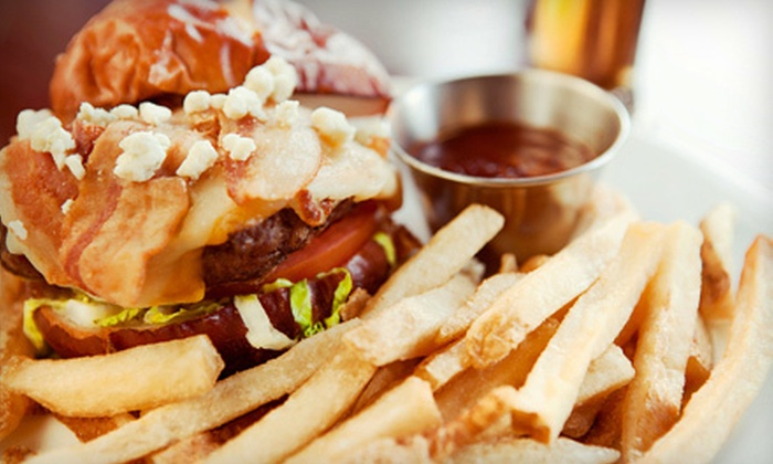 4th Quarter Bar & Grill - Zion Hill: Pub Fare and Drinks at 4th Quarter Bar & Grill (Half Off). Two Options Available.