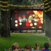 Favi LED Projector and Screen Bundle