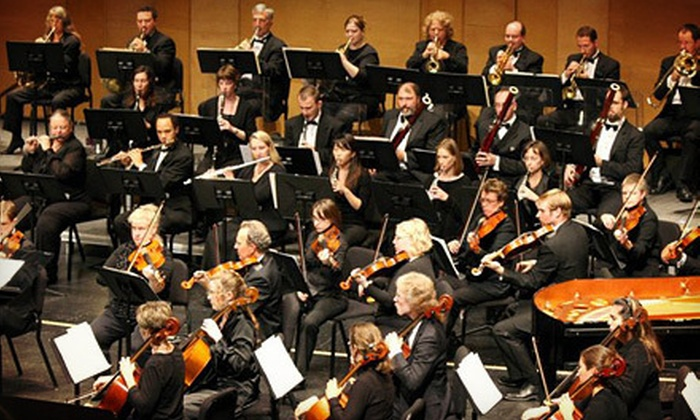 Green Bay Symphony Orchestra - Green Bay: Green Bay Symphony Orchestra Performance and Wine for Two or Four (Up to 52% Off)