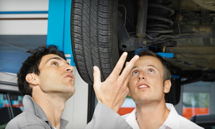 One or Two Oil Changes with Tire Rotation and Inspection, or $25 for $50 Worth of Parts and Labor at Tuffy Auto Service