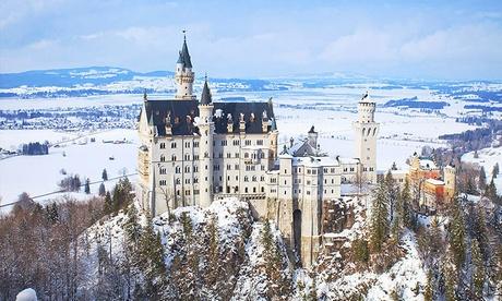 Füssen: 2 noches para 2 con desayuno, menú a la luz de las velas y opción a visita a castillo en Luitpoldpark Hotel 4*