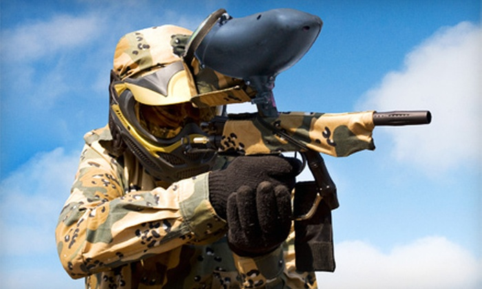 East Coast Extreme Inc. - Sunshine Parkway: Day of Paintball for 2 or Up to 10 at East Coast Extreme Inc. in Lake Worth (Up to 58% Off)