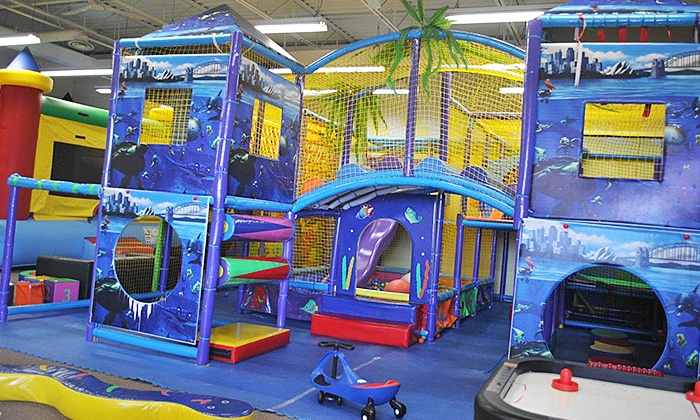 Little Rascals Place - Oakville: 3, 5, or 10 Drop-In Play Sessions at Little Rascals Place (44% Off)