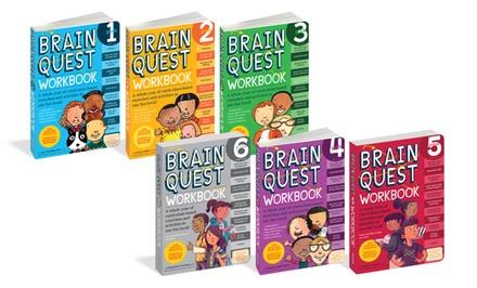 Brain Quest Deck/Workbook Sets for 1st-6th Grade
