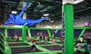 Rebounderz - Edison: Two Hours of Trampoline Jumping for Two or Four at Rebounderz (Up to 58% Off)