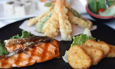 Six-Course Meal for Two or Four at Taki Japanese Restaurant (Up to 56% Off)