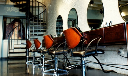 Haircut Package or Color Services at Mitchell John Salon (Up to 49% Off). Three Options Available.