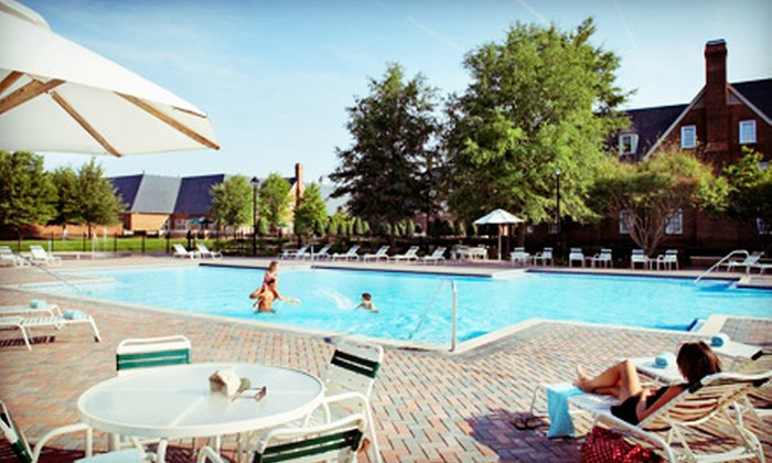 Founders Inn and Spa - Virginia Beach, VA: Pool and Amenities Membership for One or Two or a Family of Up to Five at Founders Inn and Spa (Up to 52% Off)