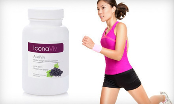 AcaiViv Premiere Weight Loss Blend: One or Three-Month Supply of AcaiViv Premiere Weight Loss Blend (Up to 81% Off). Free Shipping.
