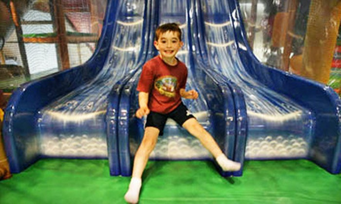 Safari Run - Sunnyvale: $40 for 10 One-Hour Jungle-Gym Open-Play Sessions at Safari Run ($80 Value)