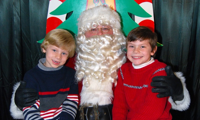 Gateway Clipper Fleet - South Shore: $60 for Admission to the Santa Fun Cruise for Up to Four from Gateway Clipper Fleet ($74 Value)