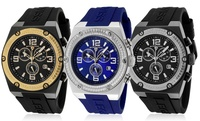 GROUPON: Swiss Legend Men's Throttle Chronograph Watch Swiss Legend Men's Throttle Chronograph Watch