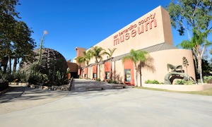 San Bernardino County Museum: One-Time Admission or Annual Membership to San Bernardino County Museum (Up to 42% Off). Four Options Available.