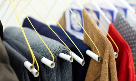 Wash and Fold Laundry Service at Plaza Wash Land (Up to 55%  Off). Four Options Available.