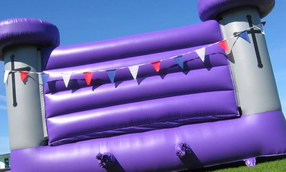 image for One-Day Bouncy Castle Hire (€99) Plus One Food or Drink Machine (€169) from Party Zone