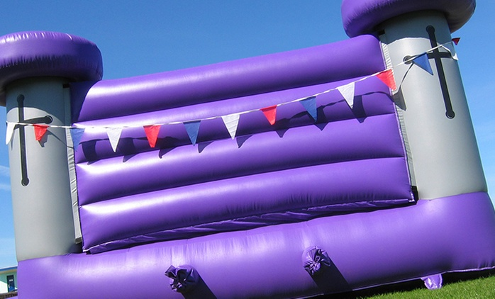 One-Day Bouncy Castle Hire (€99) Plus One Food or Drink Machine (€169) from Party Zone