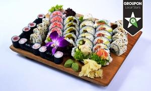 Goko Restauracja Japońska: Imprezowy zestaw sushi za 99 zł w Goko Restauracji Japońskiej (zamiast 207 zł)
