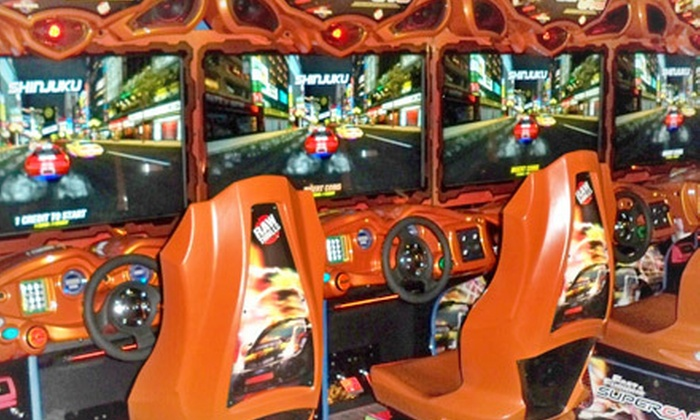 Jillian's of Worcester - Worcester: $25 for $50 Worth of Arcade Games at Jillian's of Worcester