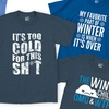 Men's Over the Cold Graphic T-Shirts