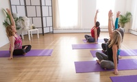 5 or 10 Yoga Classes or a Four-Week Beginner Workshop at Flourish Vitality Centre (Up to 74% Off)