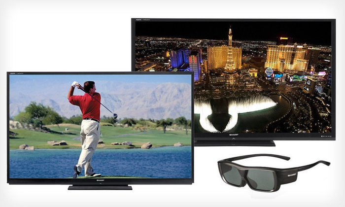 Sharp Quattron 240 Hz, Smart, 3D LED TV: 70- or 80-Inch Class Sharp Quattron 240 Hz, Smart, 3D LED TV (Up to 27% Off). Free Shipping or Free Returns.