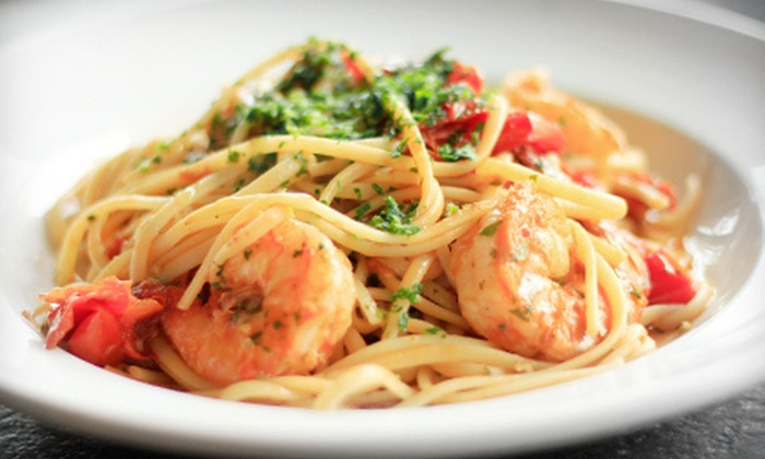 Caffé Italia - Ellsworth: $12 for $25 Worth of Italian Cuisine and Drinks at Caffé Italia