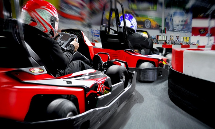 K1 Speed - Multiple Locations: $48 for a Racing Package with Four Races and Two Yearly Licenses at K1 Speed (Up to $91.96 Value)