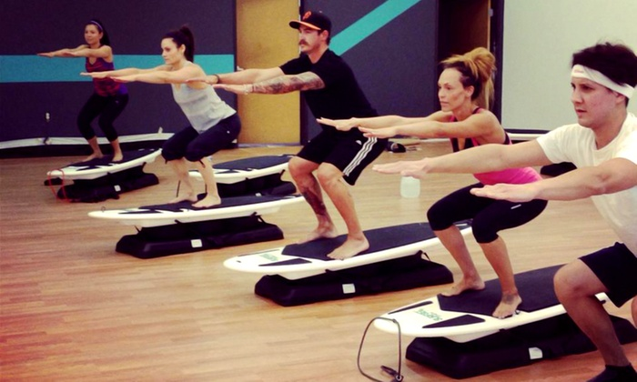 Anchor Fitness - Point Pleasant Beach: 5 or 10 SurfSET Fitness Classes at Anchor Fitness (Up to 64% Off)