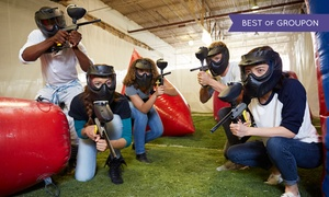 Richmond Indoor Paintball: Paintball Package for One or Four with Gear and Paintballs at Richmond Indoor Paintball
