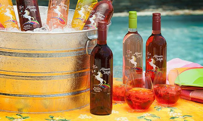 Afternoon Delight: 6 or 12 Bottles of Fruit-Flavored Moscato from Afternoon Delight ( 56% Off )
