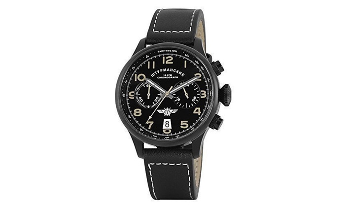Sturmanskie Para Reloj Hombre Reloj Cronógrafo Cronógrafo 80wknOP