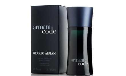 Armani Code by Giorgio Armani Men's Eau de Toilette Fragrance. Three Sizes Available from $42.99–$70.99.